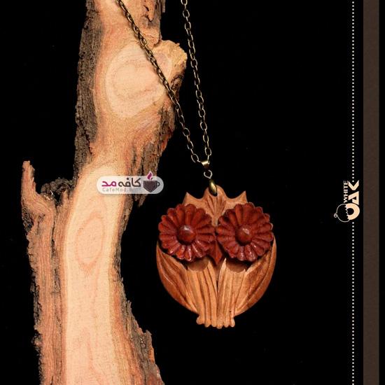 مدل گردنبندهای چوبی