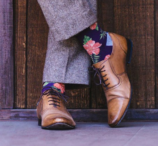 ست کردن جوراب مردانه