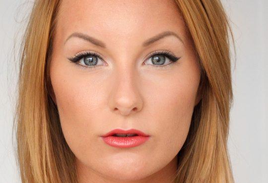 آموزش کشیدن خط چشم با سایه دودی