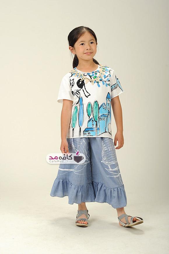 مدل لباس تابستانه دخترانه Tago