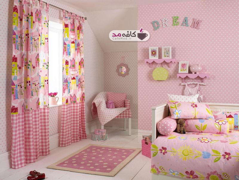 طراحی اتاق کودک با کاغذ رنگی