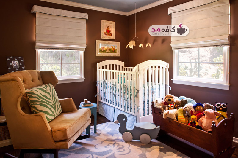 رنگ اتاق کودک از نظر روانشناسی