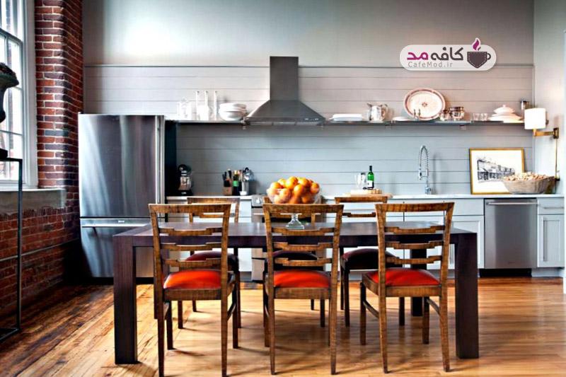 رنگ آشپزخانه و پذیرایی را چگونه ست کنیم؟