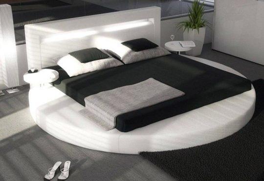 تخت خواب گرد برای اتاق خواب