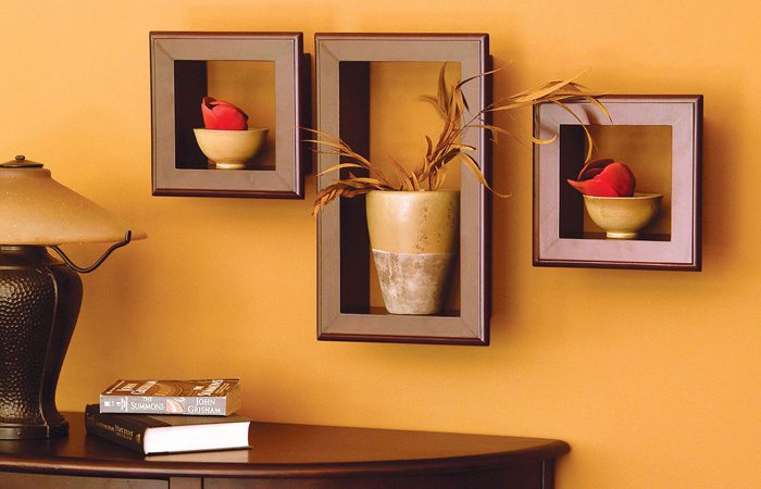 مدل قفسه دیواری مدرن و شیک
