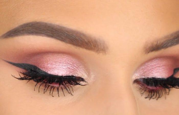 فیلم آرایش چشم با محصولات هدی بیوتی