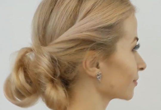 فیلم آموزش بافت موی بلند در منزل