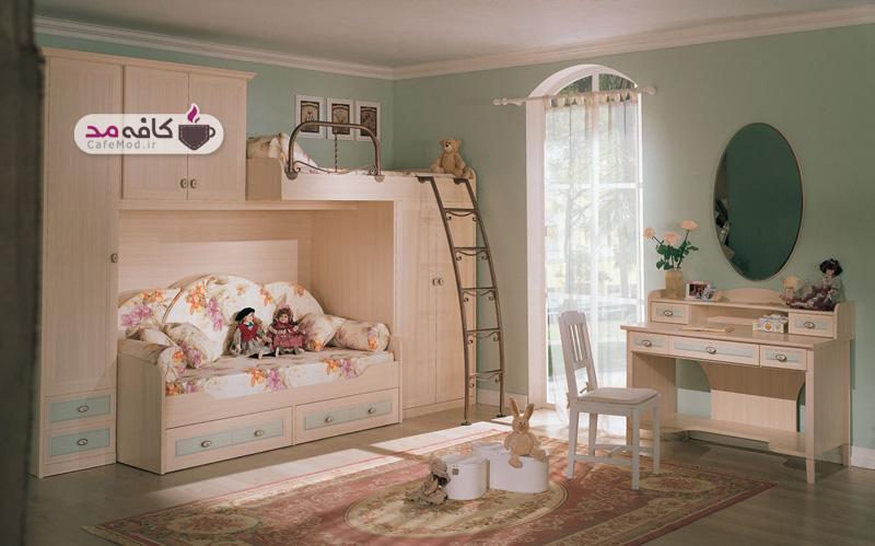 چیدمانی متفاوت برای اتاق کودک