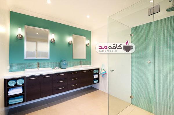 مدل های طراحی رنگ حمام