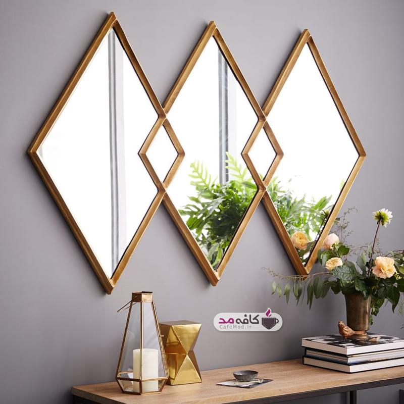 استفاده از آینه در دکوراسیون