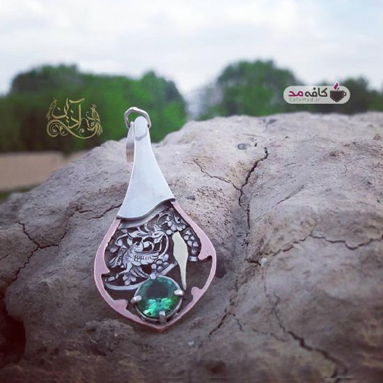 مدل زیورآلات نقره ایرانی