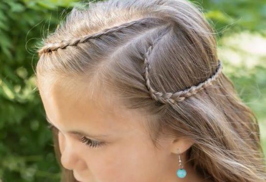 فیلم آموزش بافت دو طرفه موی کودک