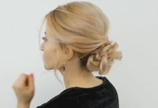 فیلم آموزش بافت موی بلند زیبا