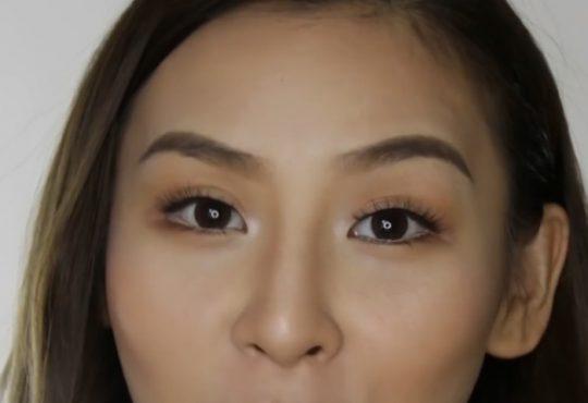 فیلم آموزش درشت کردن چشم ها با آرایش