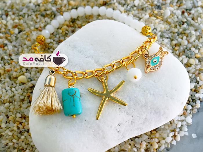 آموزش ساخت دستبند با ستاره دریایی
