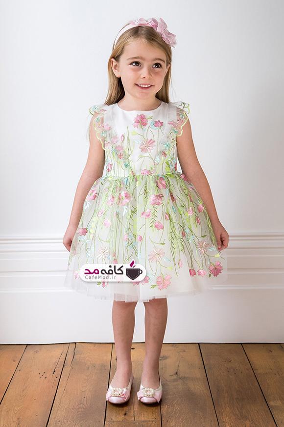 مدل لباس مجلسی دخترانه ده ساله 2018