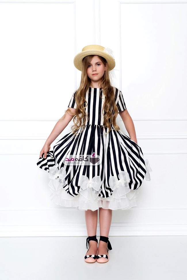 مدل لباس دخترانه راه دار Aristocrat
