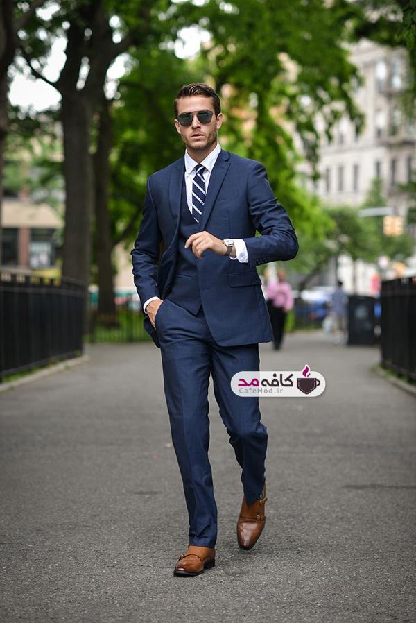 رنگ کت و شلوار و کفش