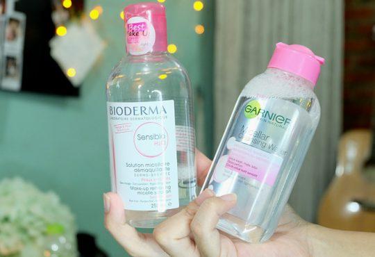 محلول آرایش پاک کن