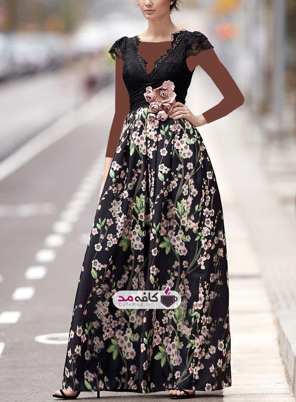 مدل لباس مجلسی شیک و ساده
