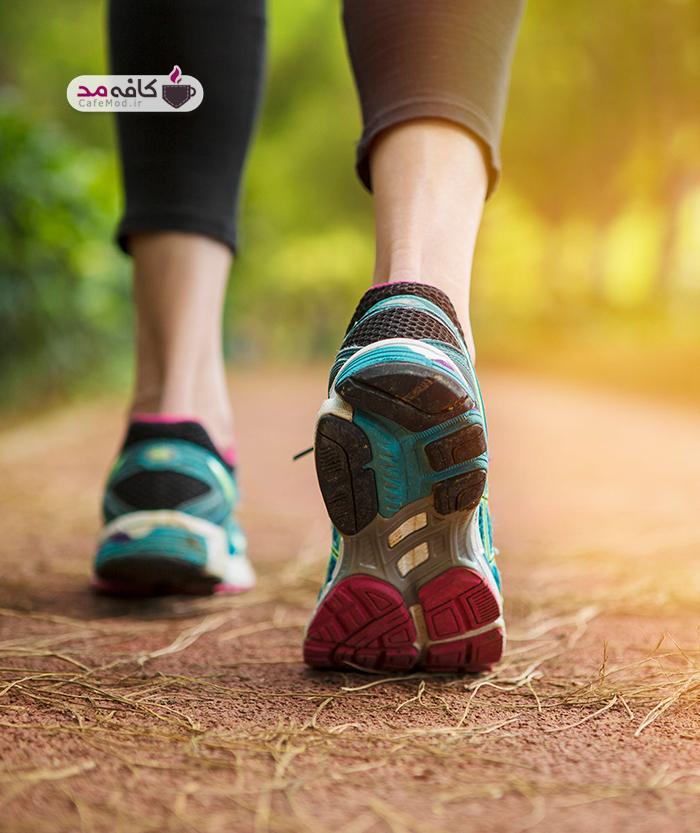 فواید پیاده روی بر روی سلامت انسان ها