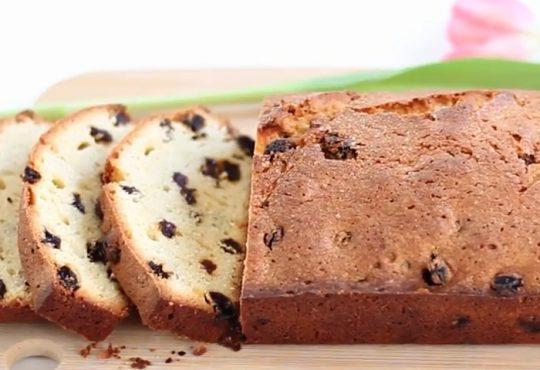 فیلم آموزش پخت کیک کشمشی