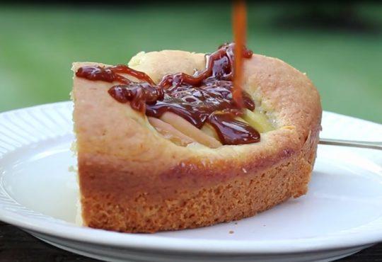 فیلم آموزش پخت کیک سیب آلمانی
