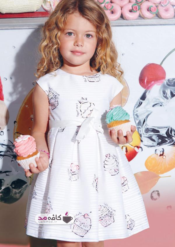 مدل لباس دخترانه مجلسی Elsy