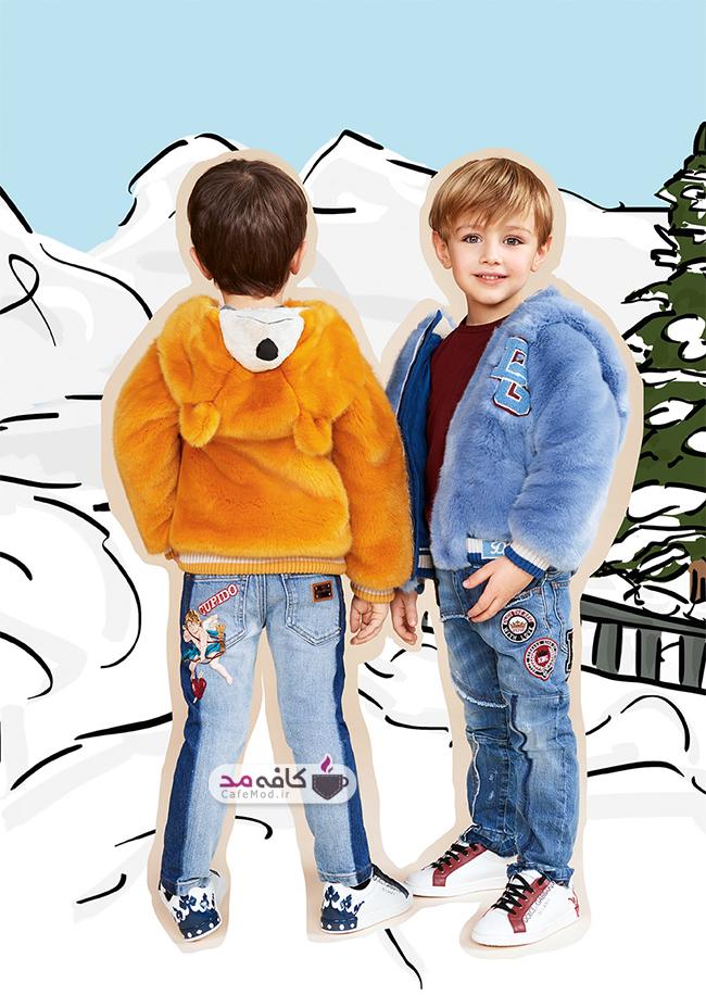 مدل لباس بچه گانه و پسرانه 2019 D&G