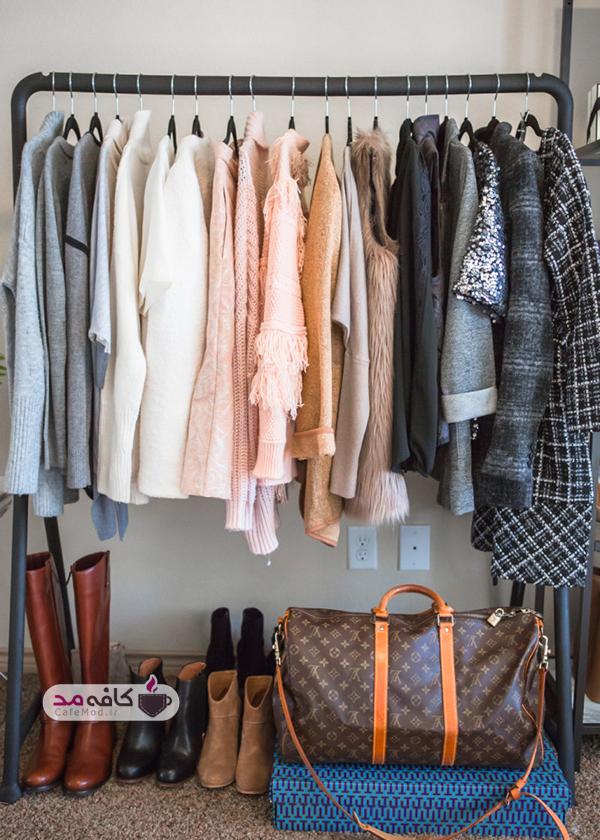 سازماندهی کمد لباسهای نامرتب در سی دقیقه