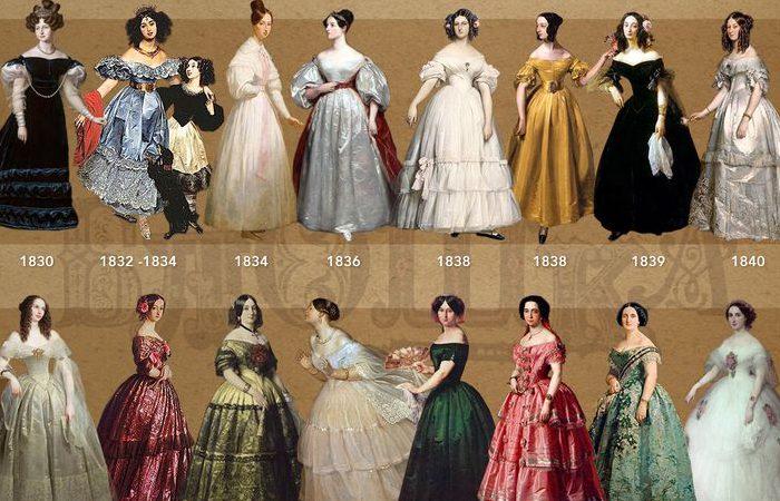 بررسی مد و سبکهای قرن 19 (قرتیگری تا خردگرایی)