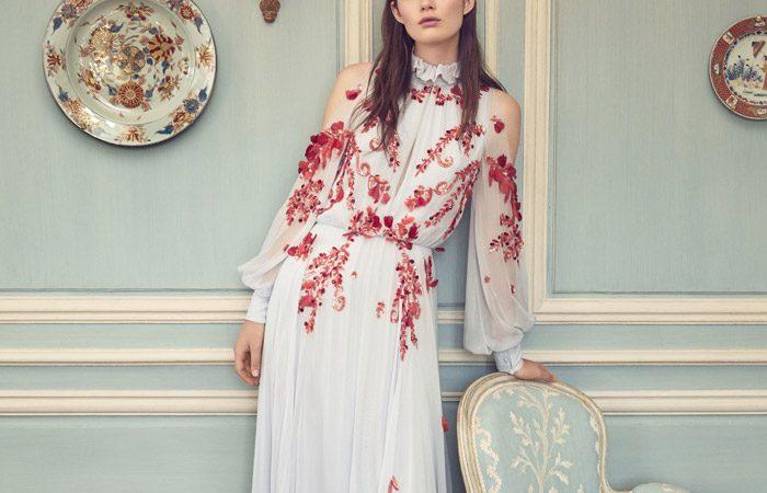 مدل لباس مجلسی 2019 Monique Lhuillier