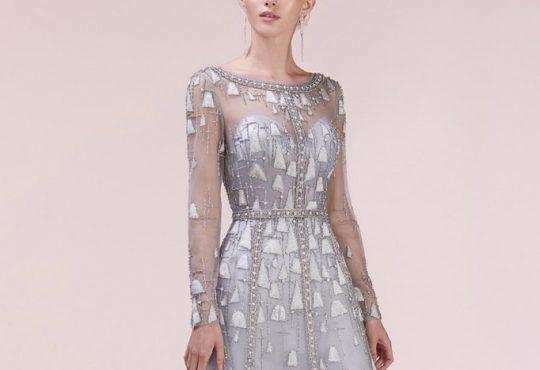 مدل لباس مجلسی پوشیده Andrea Leo