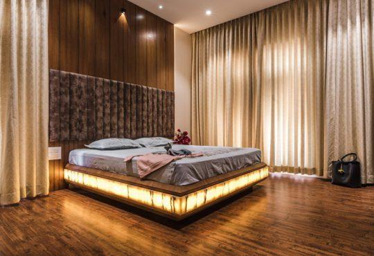 شیکترین مدلهای نورپردازی اتاق خواب