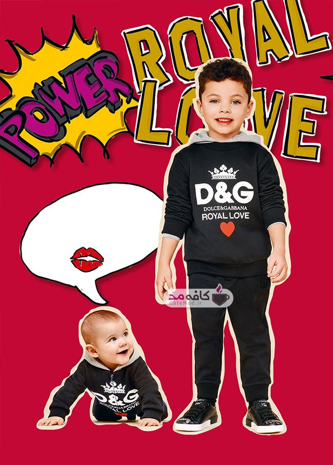 مدل لباس پسرانه D&G 2019