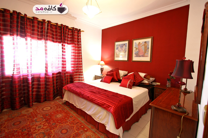 رنگ ها در طراحی اتاق خواب