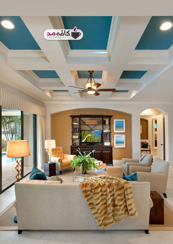 جدیدترین مدل های رنگ سقف خانه