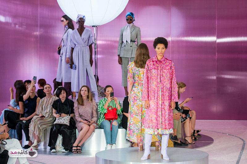 یک فشنشو جذاب و لباسهای رنگی سه خانم بازیگر