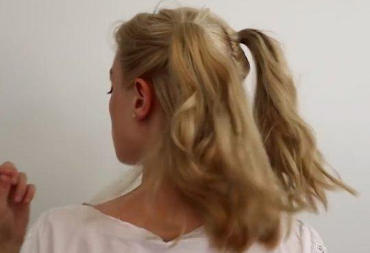 فیلم سه مدل بافت موی کوتاه ساده