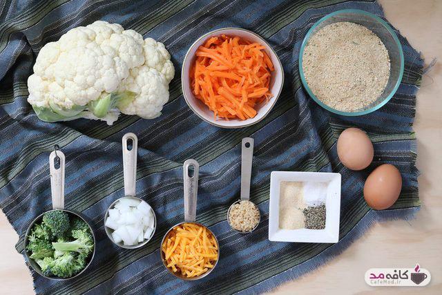 طرز تهیه ناگت سبزیجات
