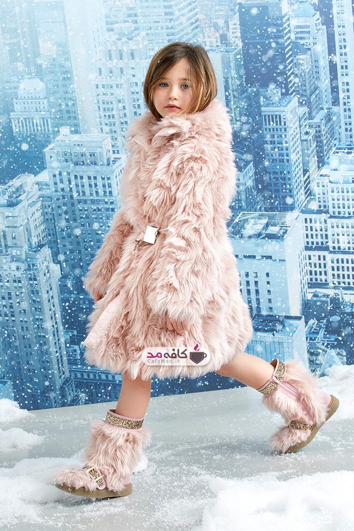 لباس زمستانه دخترانه Ermannoscervino