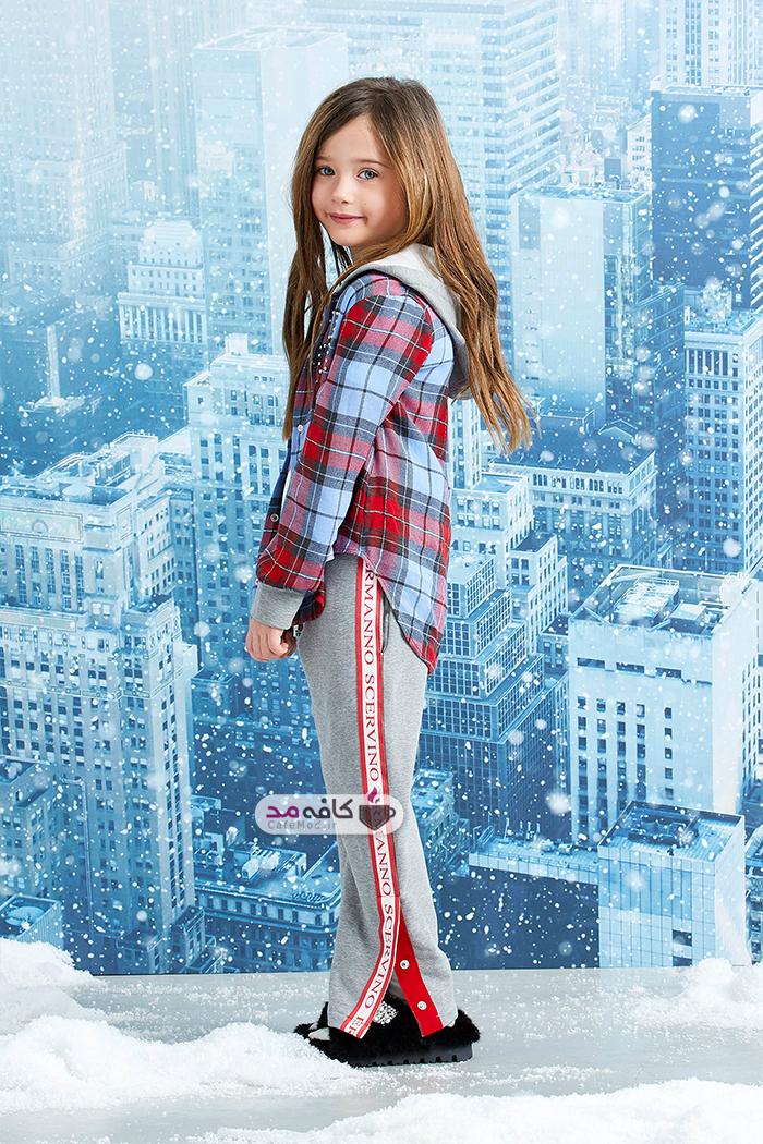 مدل لباس زمستانه دخترانه 2019