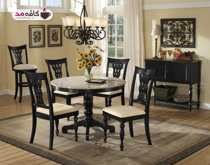 قالیچه مخصوص زیر میز ناهار خوری