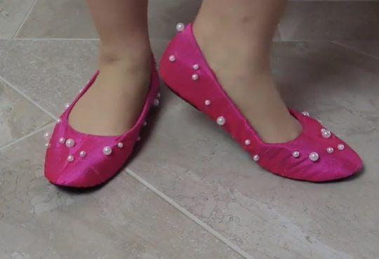 فیلم آموزش کاور تزیینی برای کفش