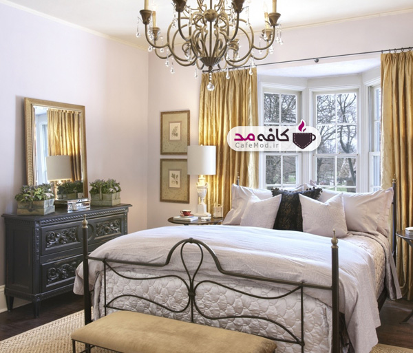 انتخاب لوستر مناسب برای اتاق خواب