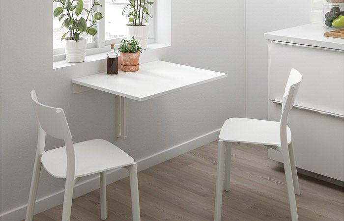 انواع میز غذاخوری دیواری و تاشو