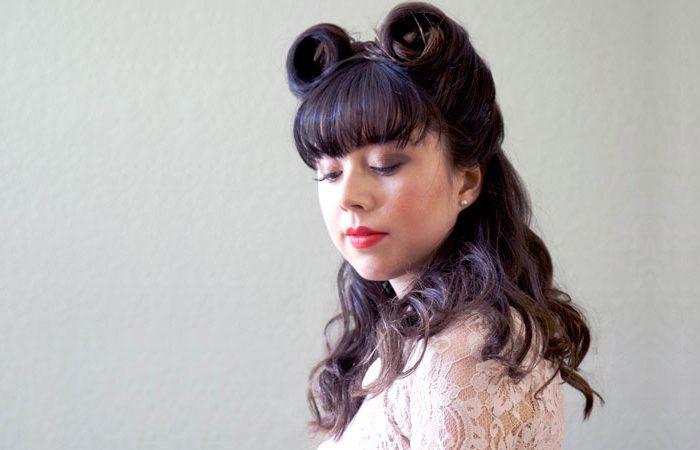آموزش تصویری آرایش مو به شکل لول