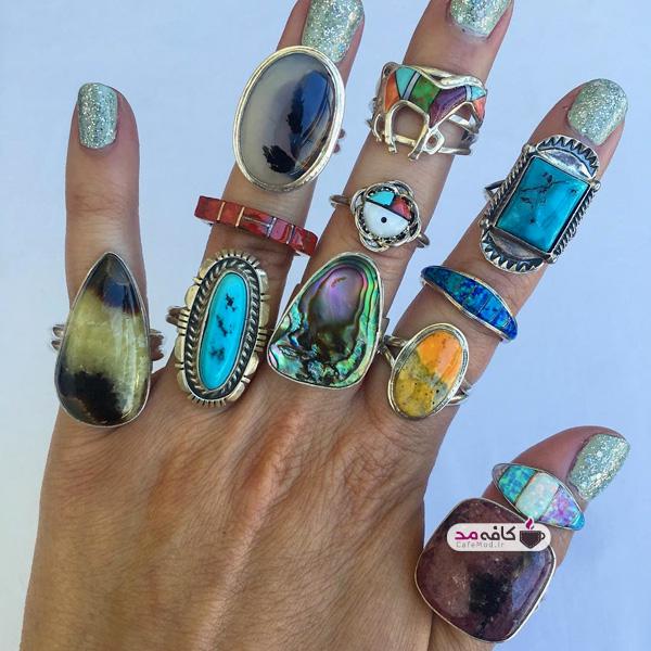 مدل انگشترهای دستساز