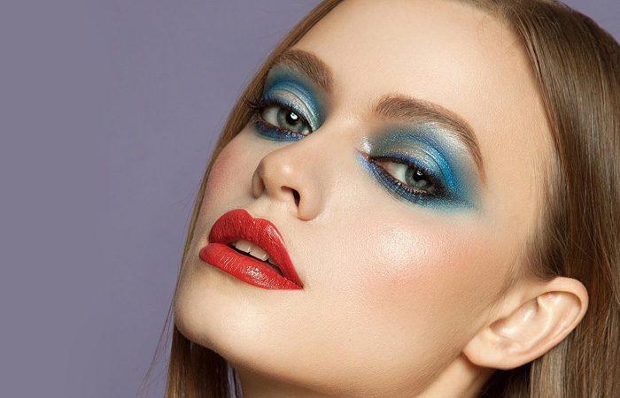 مدل آرایش از میکاپ آرتیست حرفه ای