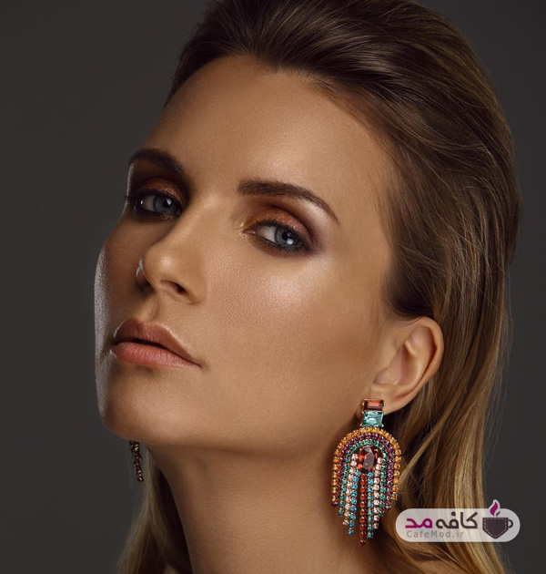مدل آرایش زیبا و ساده